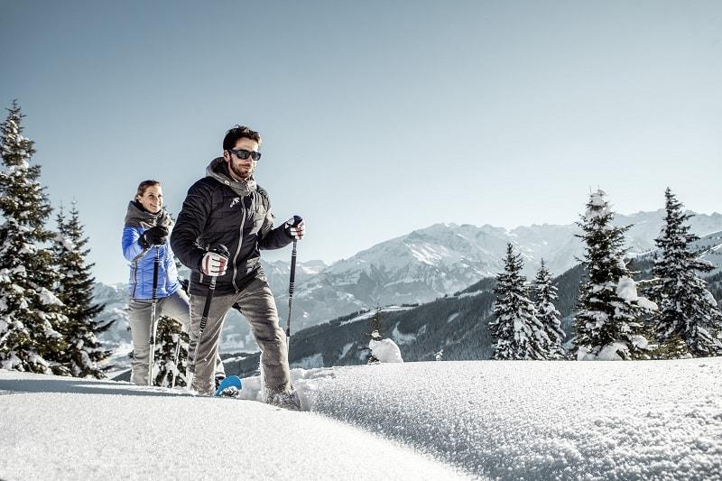 Schmitten Schneeschuhwanderung